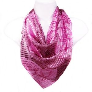 Square Scarf, Slide Included, Beautiful Fall Color